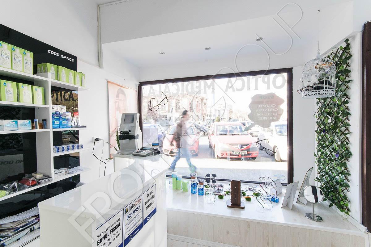 Optica Lahovari - Mobila pentru magazin - Amenajare și mobilier spații comerciale